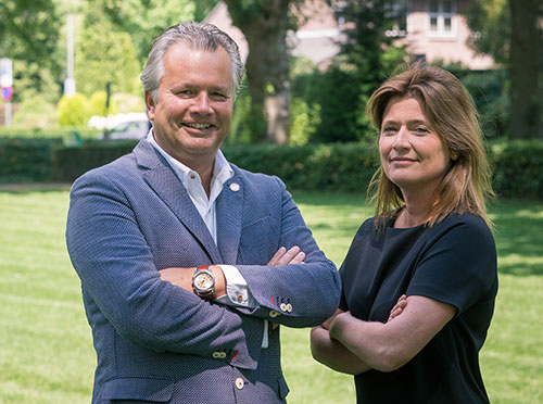 Bart Maes en Josseline de Gruijter-Bos
